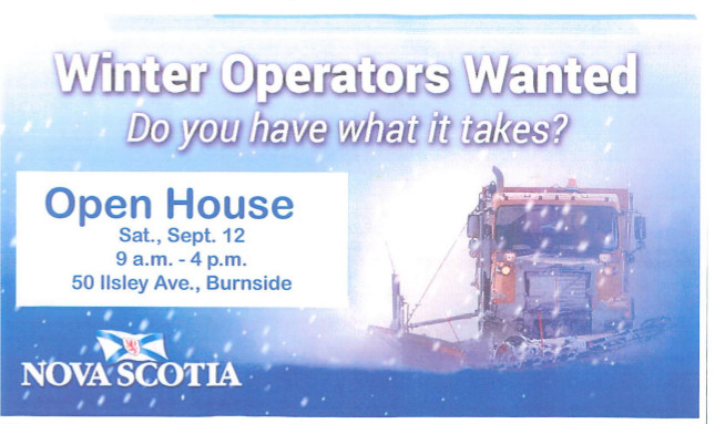 Winter Operators Open House - September 12