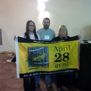 CUPE NS Health & Safety Committee - April 28