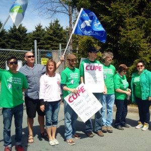 Local 1867 Supporting CUPE Local 227 & 1431 (Halifax Water Commission)